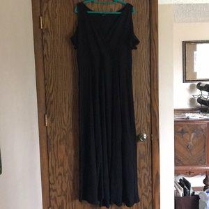Gorgeous Flowy Black Torrid 2 Maxi Dress